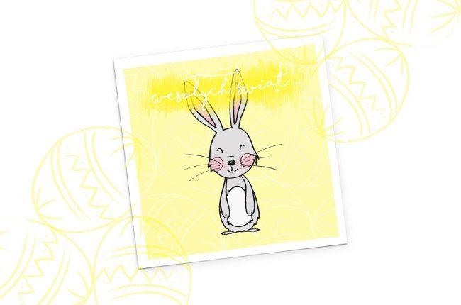 wielkanocne-pocztowki-do-druku-z-zajacem